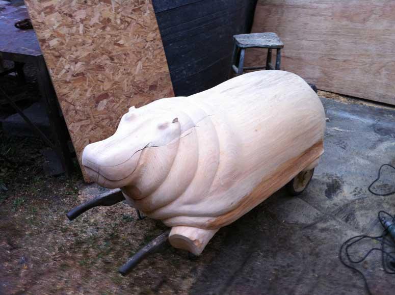 Hippo Table hippo tablederek pearce - the original glass top hippo table