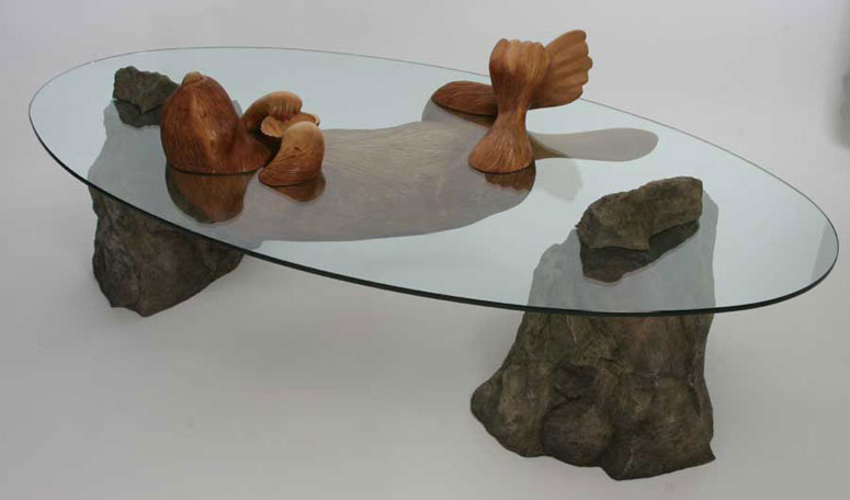 Hippo Table water tablesderek pearce the original glass top water tables