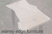 waney edge furniture